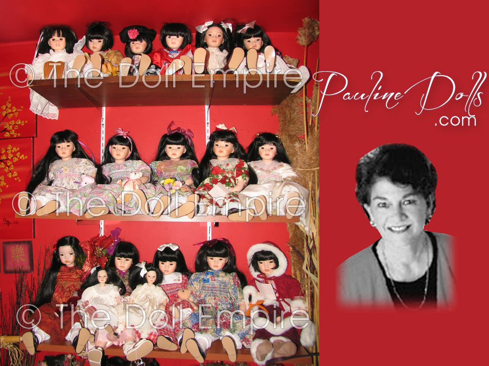 Pauline Dolls - Dolls by Pauline - Pauline-Bjonness-Jacobsen Dolls - Limited Edition Artist Dolls In Porcelain and Vinyl